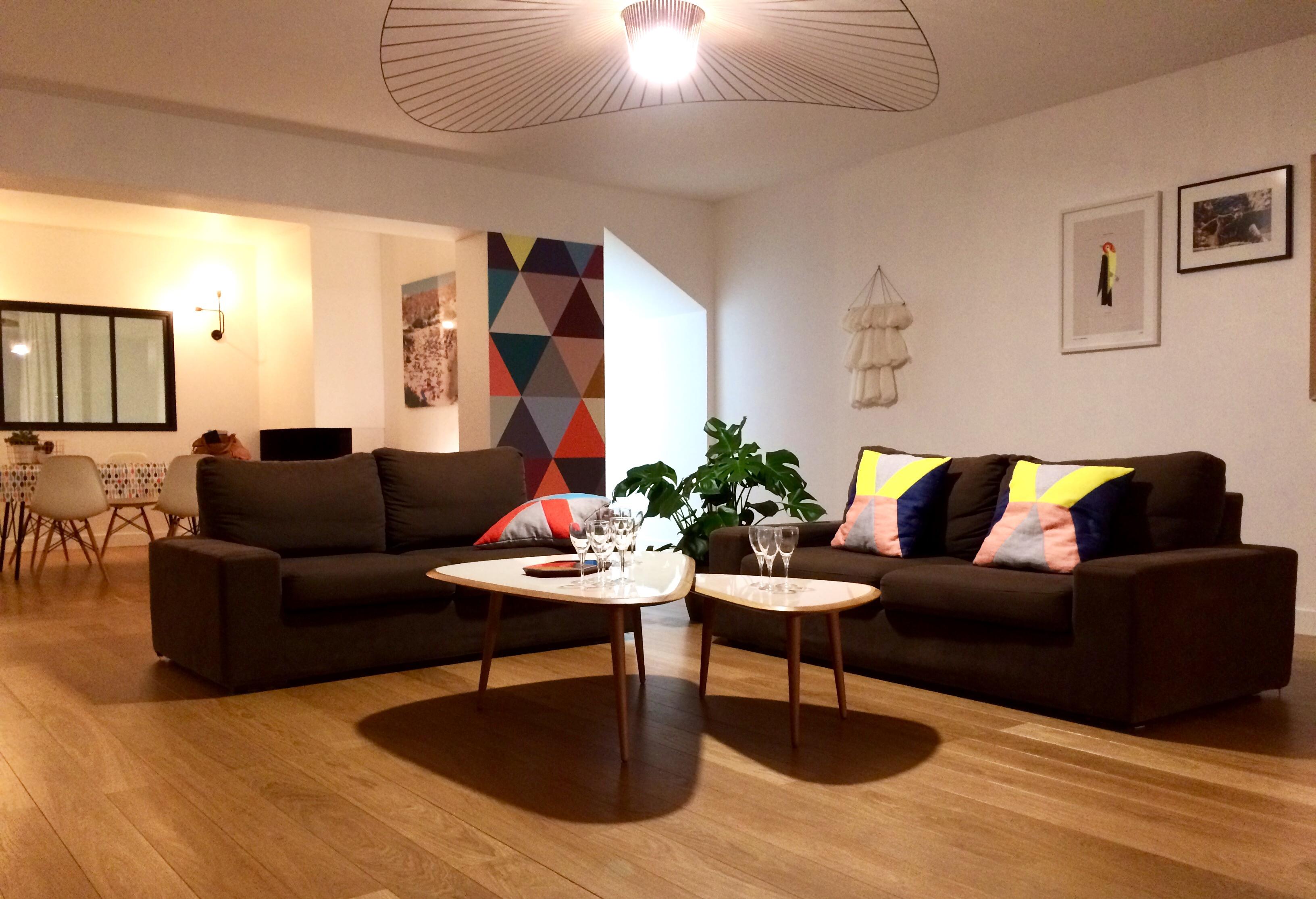 Chez-Sabrina-%C3%A0-Nanates Luxe De La Redoute Table Basse Scandinave Concept